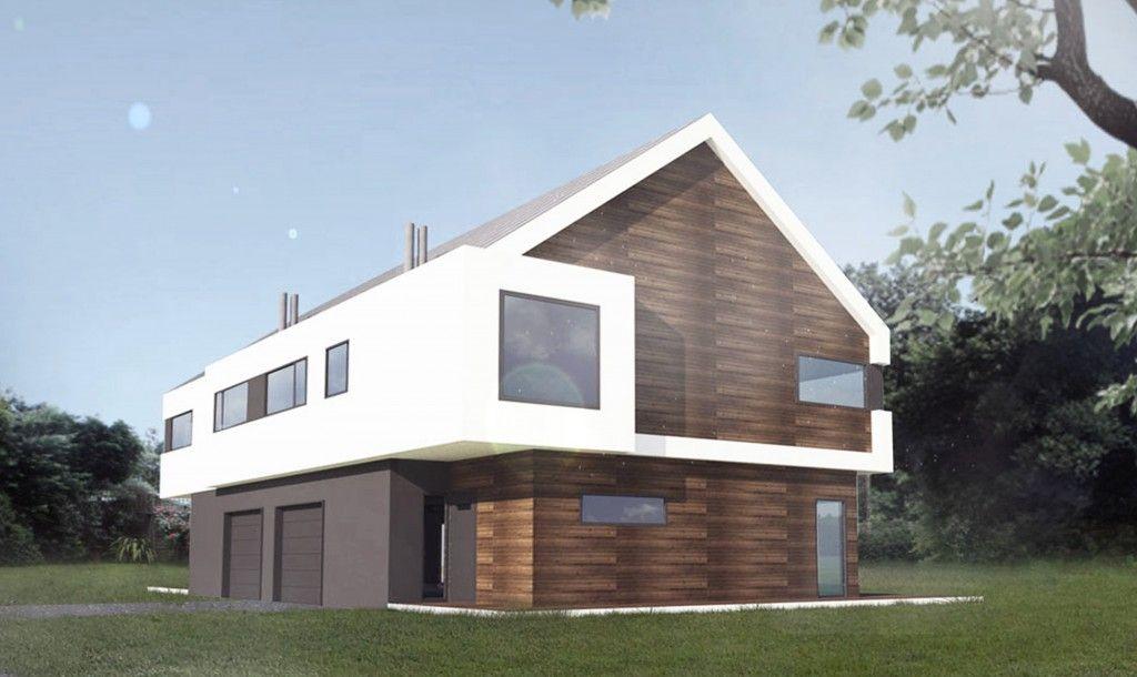 gotowe projekty domów piętrowych
