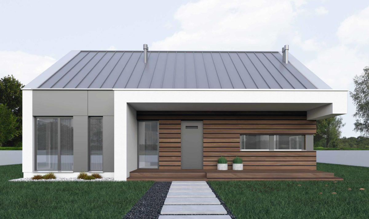 Gotowy projekt domu piętrowego FX-05