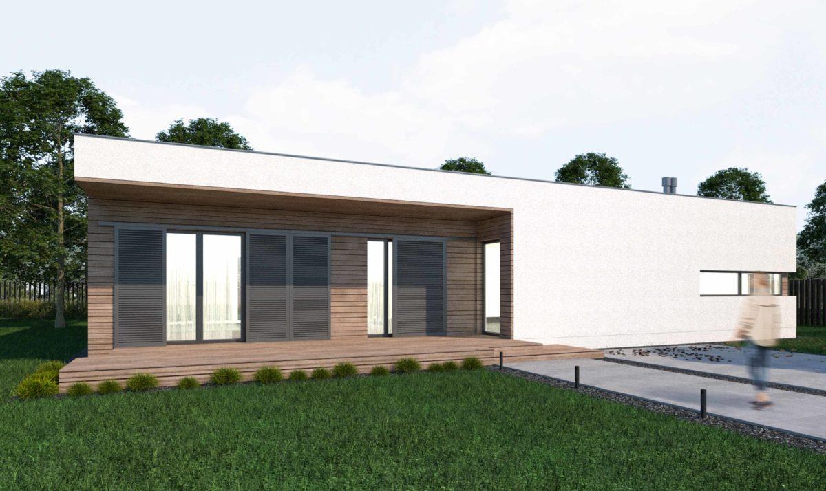 Gotowy projekt domu piętrowego FX-07