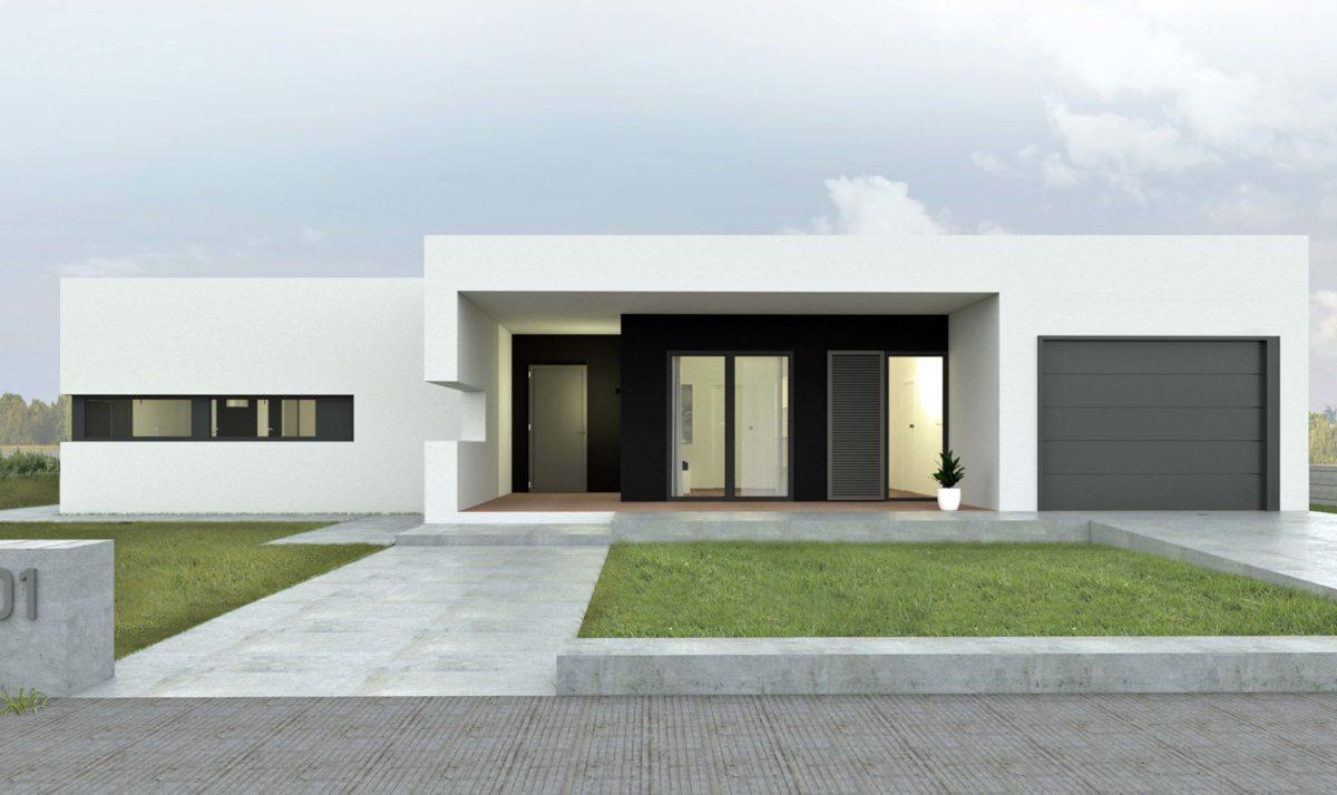 Gotowy projekt domu piętrowego A-25