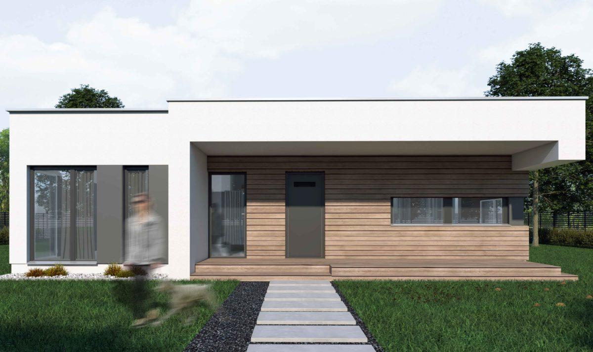 Gotowy projekt domu parterowego A-11