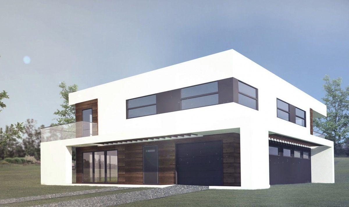 gotowe projekty domów dwu-piętrowych