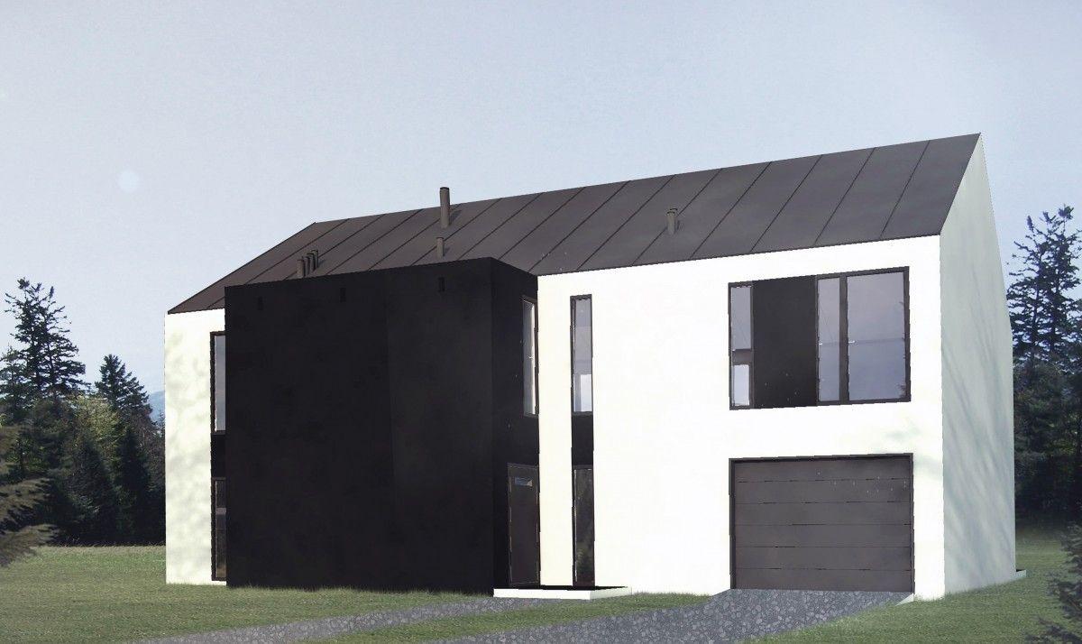 dom dla trzech rodzin B-80