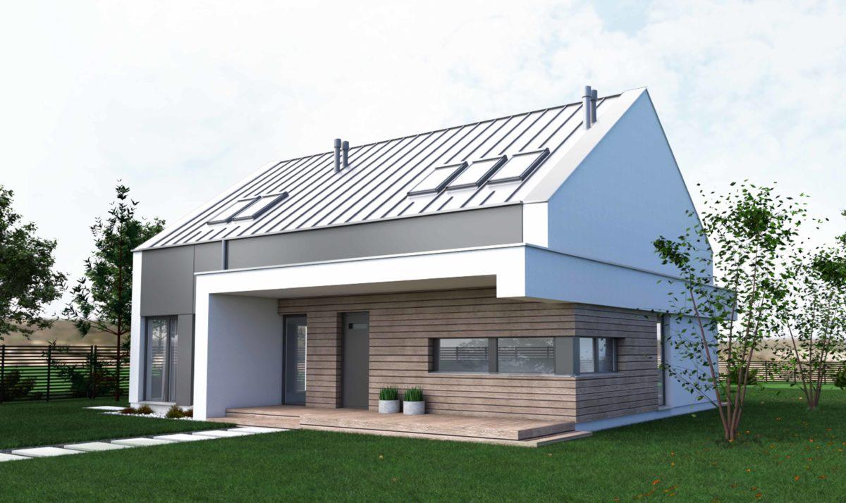 Gotowy projekt domu piętrowego RS-9