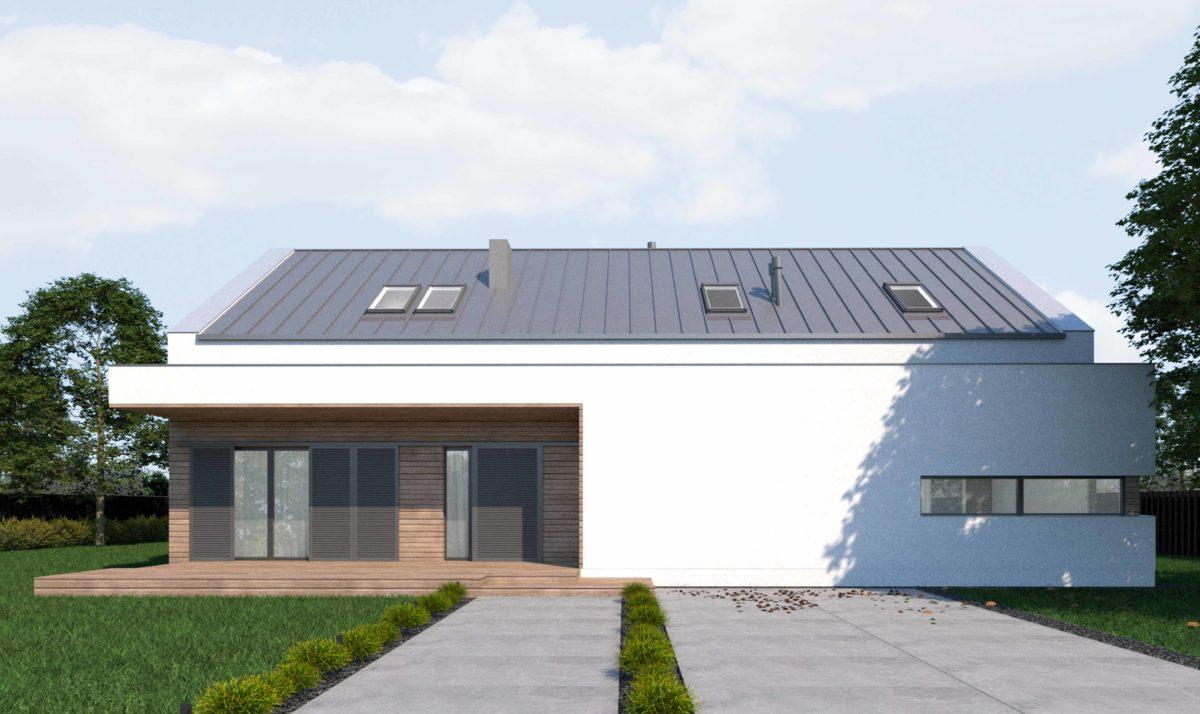 Gotowy projekt domu piętrowego FX-38