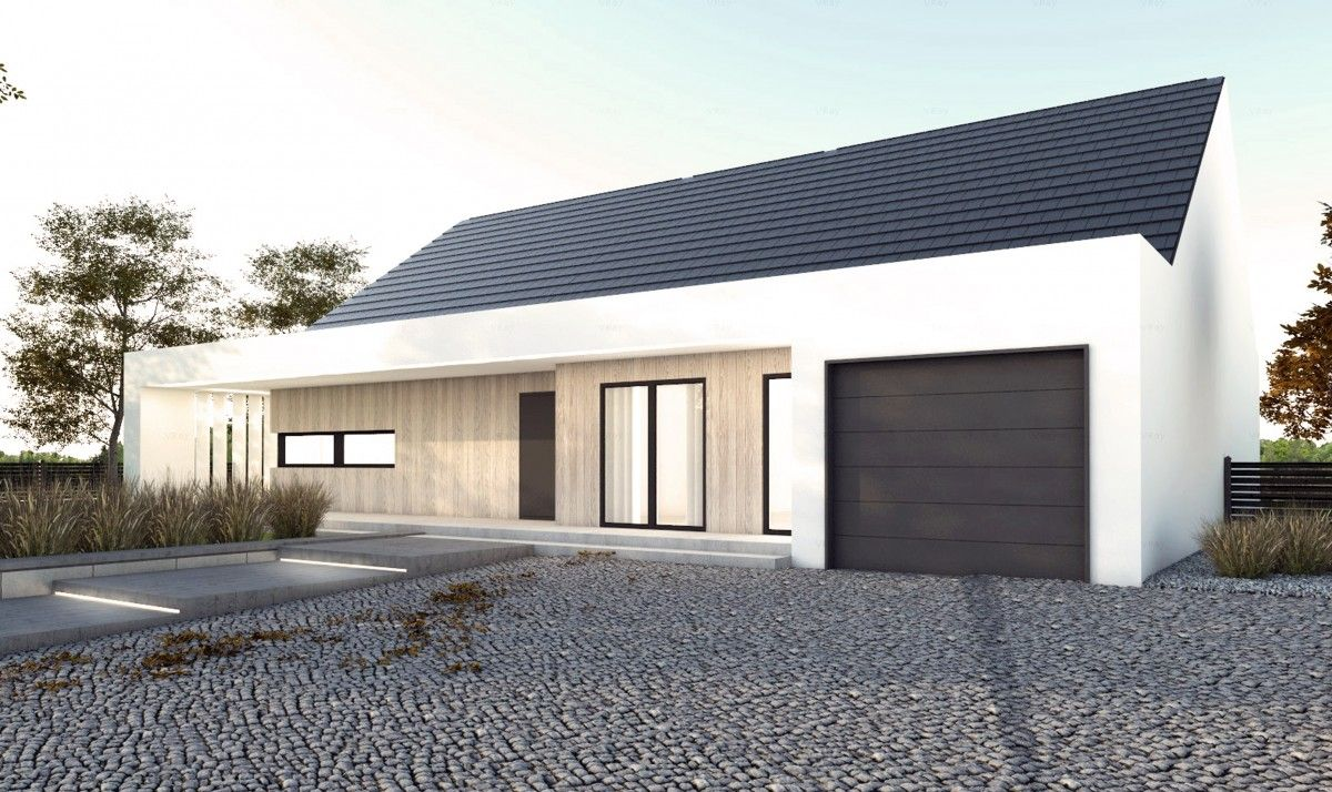Gotowy projekt domu parterowego A-26