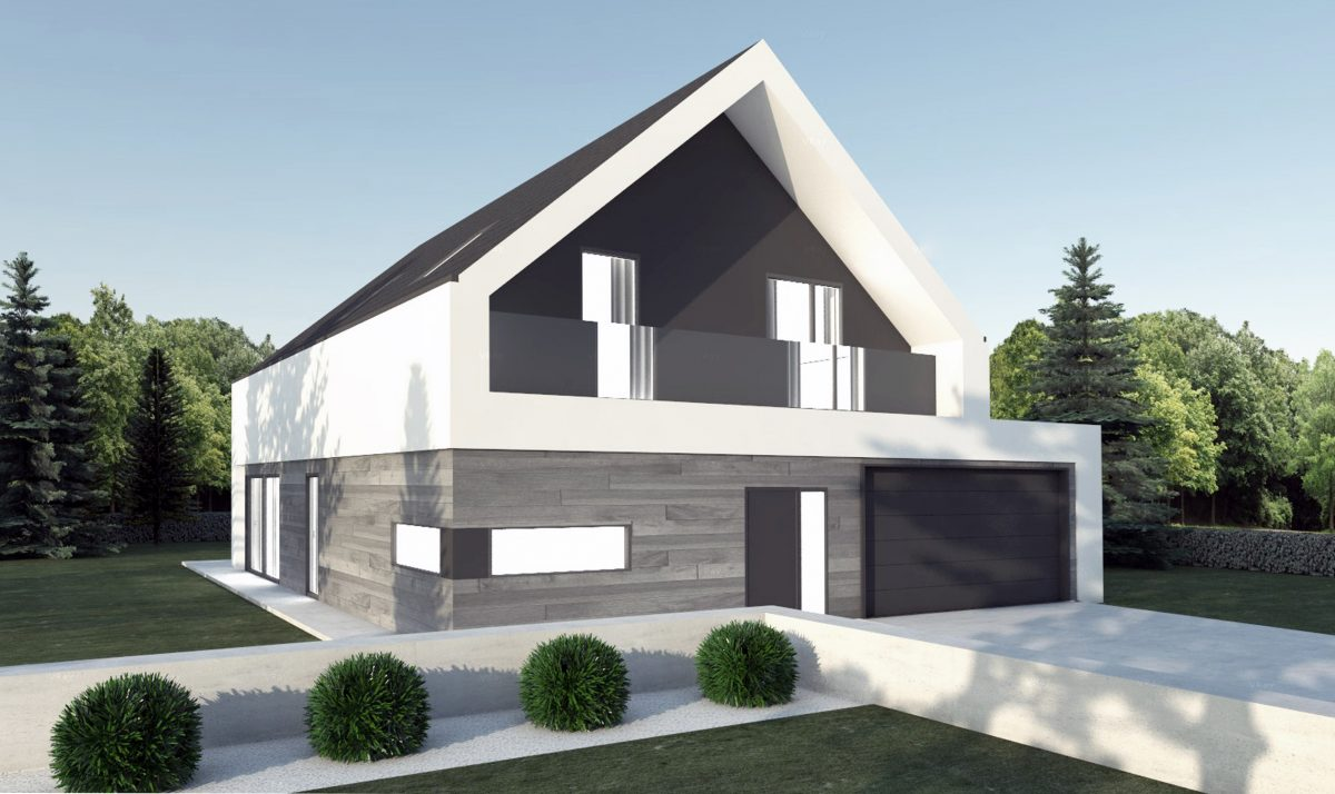 Gotowy projekt domu piętrowego FX-67
