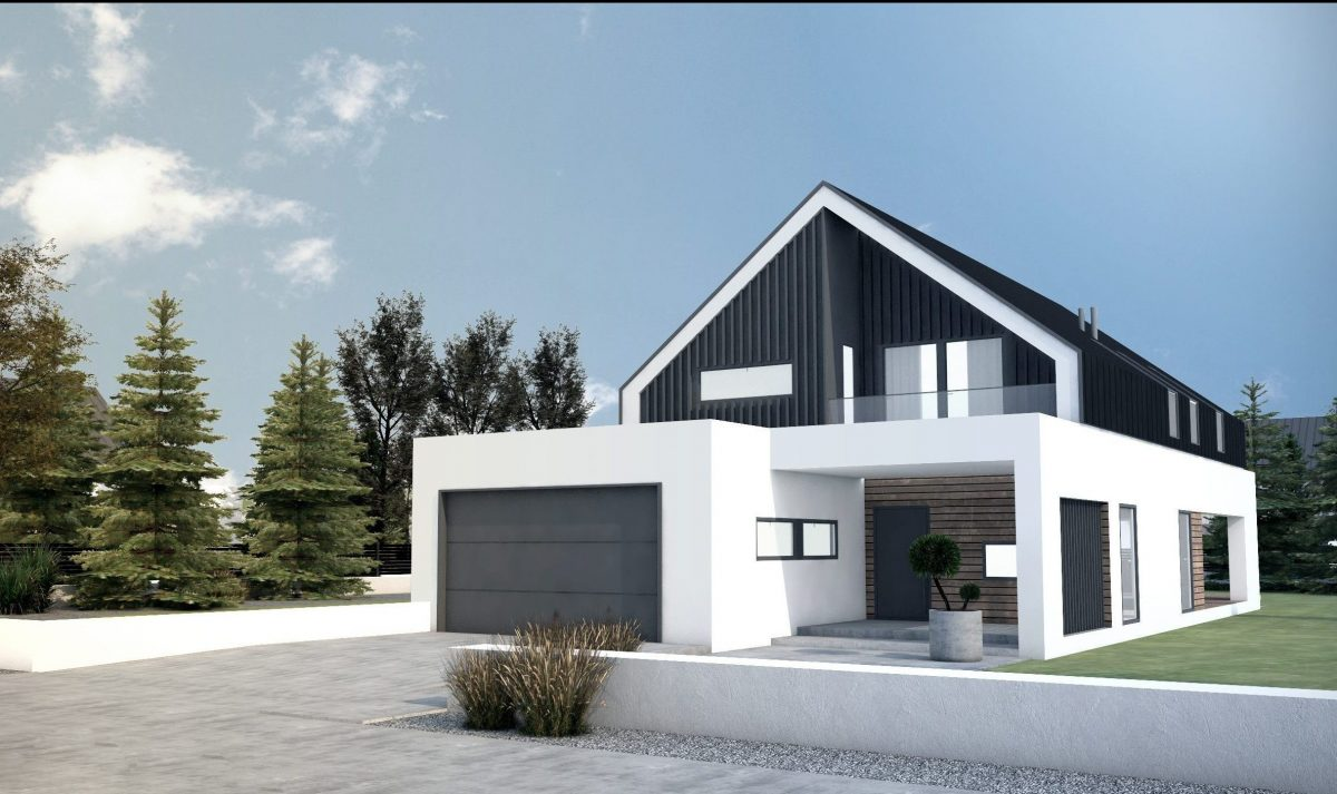 Gotowy projekt domu piętrowego FX-24