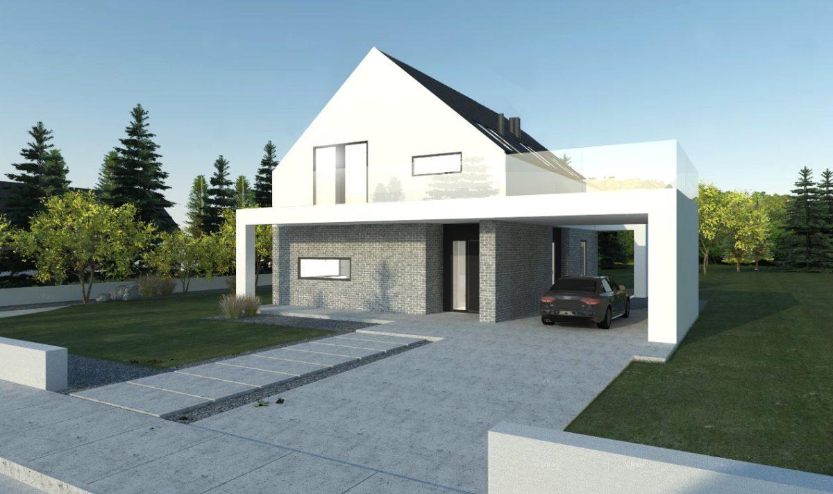 Gotowy projekt domu parterowego A-15