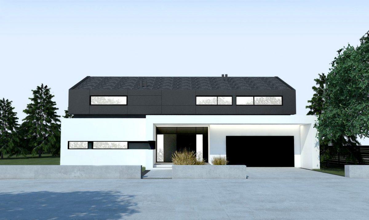 Gotowy projekt domu piętrowego A-34
