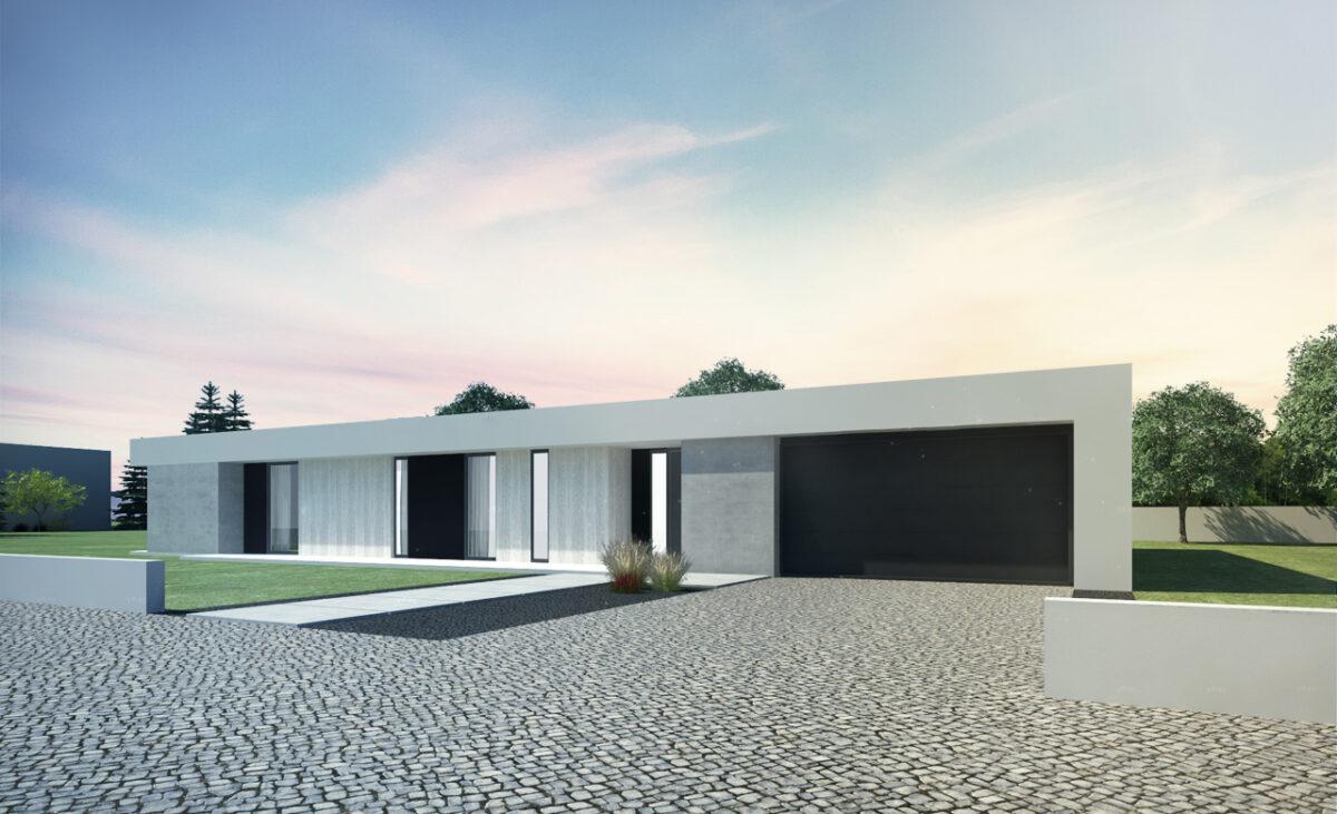 Gotowy projekt domu parterowego A-17