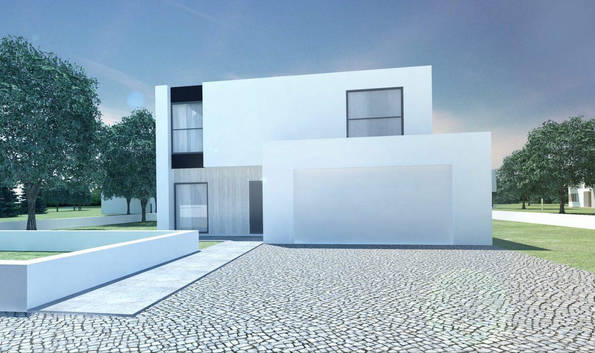 Gotowy projekt domu piętrowego A-95