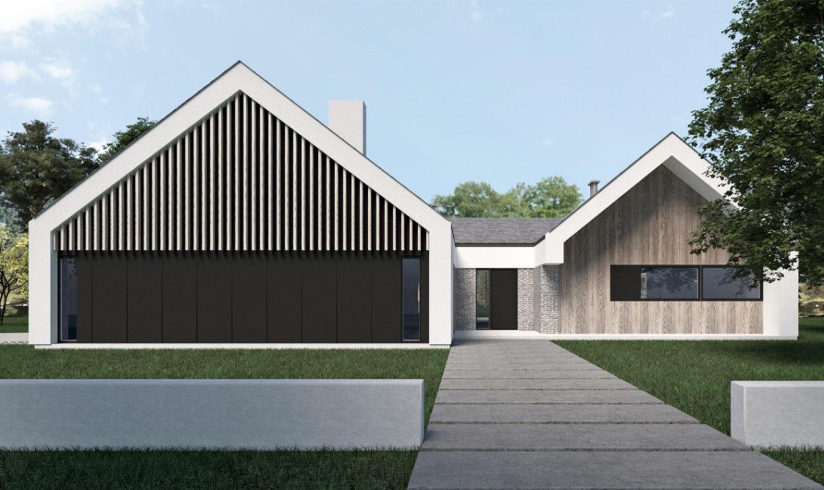 Gotowy projekt domu piętrowego A-42